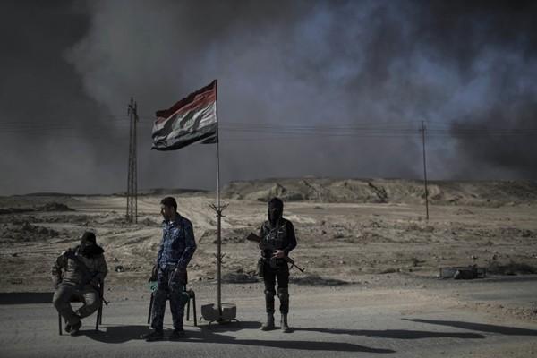 Perwira AS tewas di Mosul