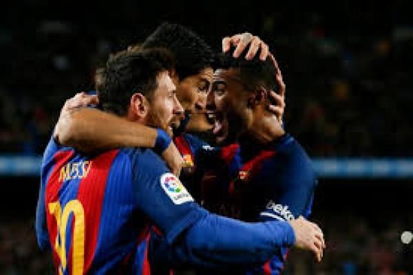 Messi 29 gol, Ronaldo 19, Neymar 9