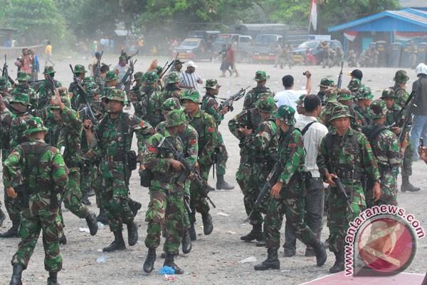 1.350 prajurit TNI dikerahkan ke perbatasan Papua