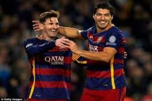 Suarez tempel Messi sebagai pencetak gol terbanyak