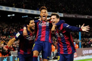 Messi dan Suarez bantu Barca tundukkan Eibar