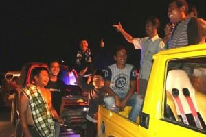 Offroader Lampung Ikut Ronda Bareng Bupati  Lamteng