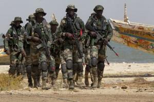 Militer Senegal masuki wilayah Gambia