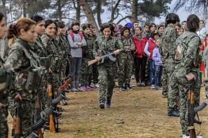 Pasukan Kurdi masuki wilayah Deir Az-Zour Suriah
