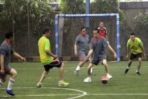 Presiden Tanding Futsal Lawan Wartawan 7 Menit