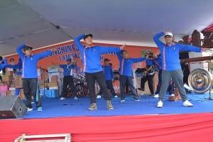 Bupati Lampung Tengah Luncurkan Senam Ronda