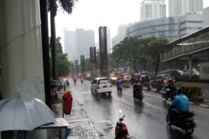 BMKG: Hujan Ringan di Pelabuhan Bakauheni Lampung