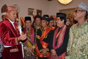 Bupati Lampung Tengah Apresiasi Kunjungan Tokoh Adat Tan Malaka