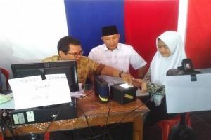 Lampung Tengah Datangi Sekolah Buat E-KTP  Pelajar