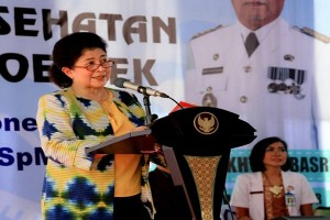 Menkes Resmikan Fasilitas RSUDAM Lampung