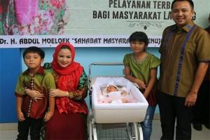 Istri Gubernur Lampung Apresiasi Pelayanan RSUDAM