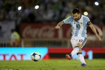 Penalti Messi Bawa Argentina Menang 1-0 Atas Chile