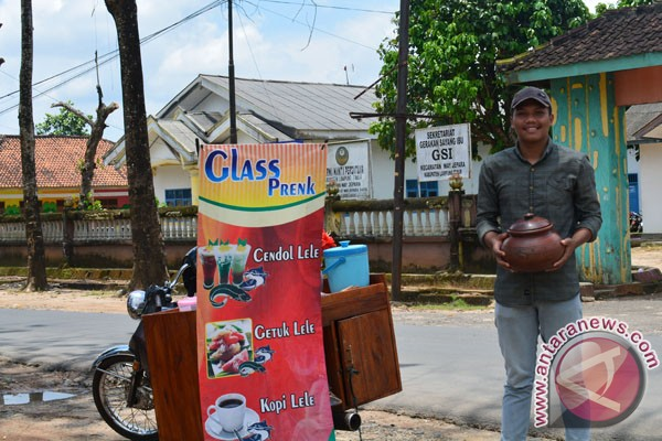 Mahasiswa UNU Lampung Buat Cendol Lele
