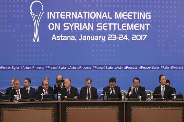 Perundingan Suriah di Astana tak dihadiri pihak pemberontak
