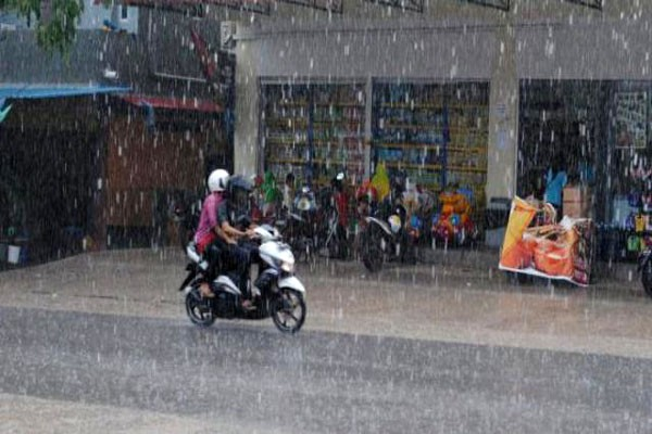 BMKG: Waspadai Hujan Lebat di Lampung