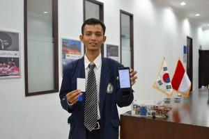Mahasiswa Lampung Rancang SMS-GPS Amankan Kendaraan