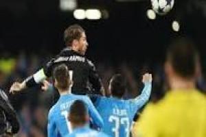 Ramos bawa Real menang 3-1 atas Napoli