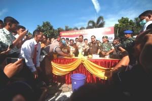 Polresta Bandarlampung musnahkan narkoba senilai ratusan juta