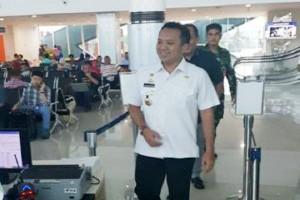 Gubernur Cek Pelayanan Bandara Radin Inten II