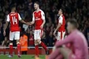 Arsenal akhiri petualangan Loncoln di piala FA