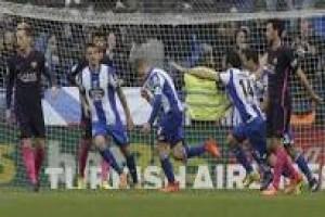 Barca keok 1-2 dari Deportivo La Coruna