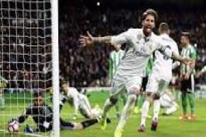 Ramos kembali jadi penyelamat Real Madrid