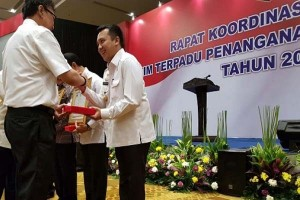 Gubernur Lampung Terima Penghargaan Penanganan Konflik Sosial