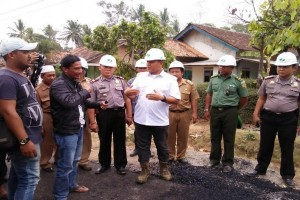 Pemkab Lampung Tengah Gunakan ADD Bangun Jalan