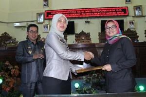 DPRD-Pemkab Lampung Timur Setujui Tujuh Raperda