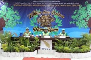 Pemprov Lampung Apresiasi Pembangunan Arboretum Itera