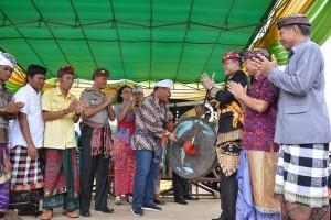 Bupati Buka Festival Ogoh-ogoh Terbesar di Lampung