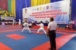 DKI Jakarta Juara Umum Kejurnas Karate Piala Mendagri