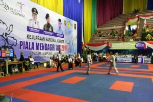 Lampung Raih Dua Perak Pada Kejurnas Karate