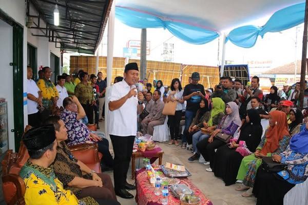 Saung Ronda Pamerkan Produk Unggulan Lampung Tengah
