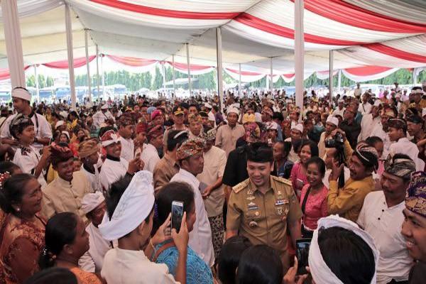 Ribuan Umat Hindu Lampung Rayakan Dharmasanti