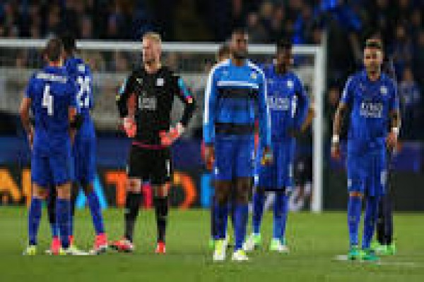 Leicester terganjal Atletico