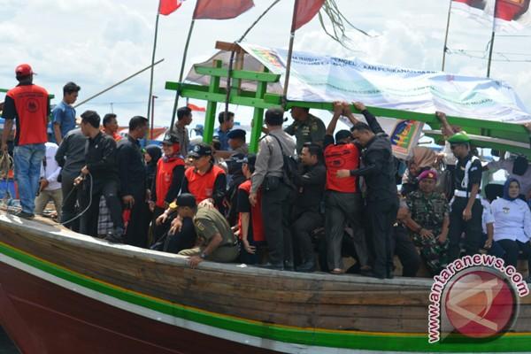 Gubernur Lampung Hadiri Tasyakuran Laut