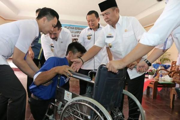 Wagub Dukung Pelatihan Kerja Bagi Penyandang Disabilitas