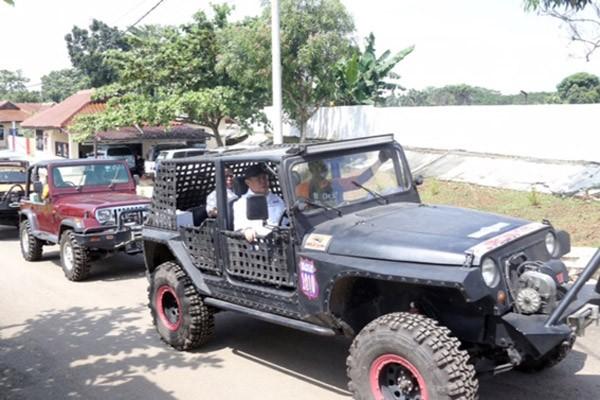 Wagub Jajal Bhayangkara Offroad Challenge 2017