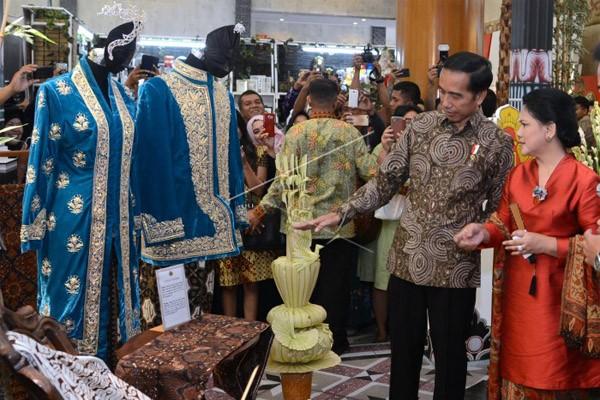 Tiga Permintaan Jokowi ke Pelaku Industri Kreatif