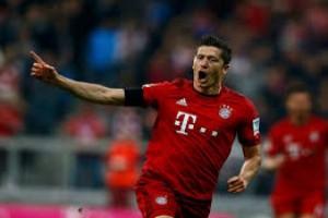 Lewandowski ukir trigol saat Bayern taklukkan Augsburg