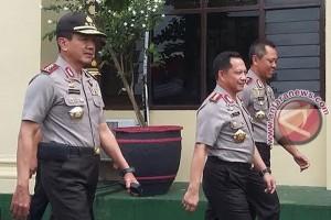 Kapolri tiba di Polda Lampung