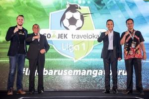 Go-Jek Traveloka Liga 1 Resmi diluncurkan