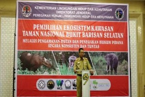 Pemprov Lampung Tingkatkan Pengawasan TNBBS