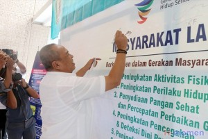 Pemprov Lampung Dukung Program Germas