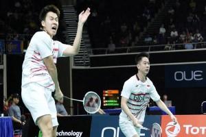 Markus/Kevin Gagal Melaju ke Final Singapura Terbuka 2017