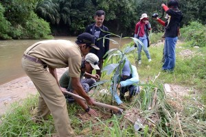Walhi Lampung Ingatkan Warga Jaga Bantaran Sungai