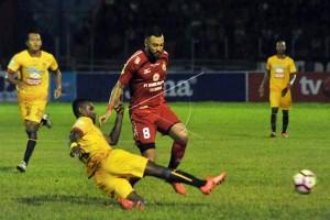 SPFC ditahan imbang Sriwijaya 1-1 di kandang