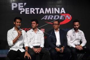 Pertamina Arden Tatap Formula 2 dengan Optimistis