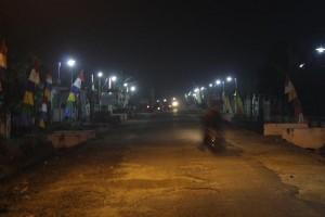 """Lampung Tengah Terang"" Dorong Keamanan Kampung"